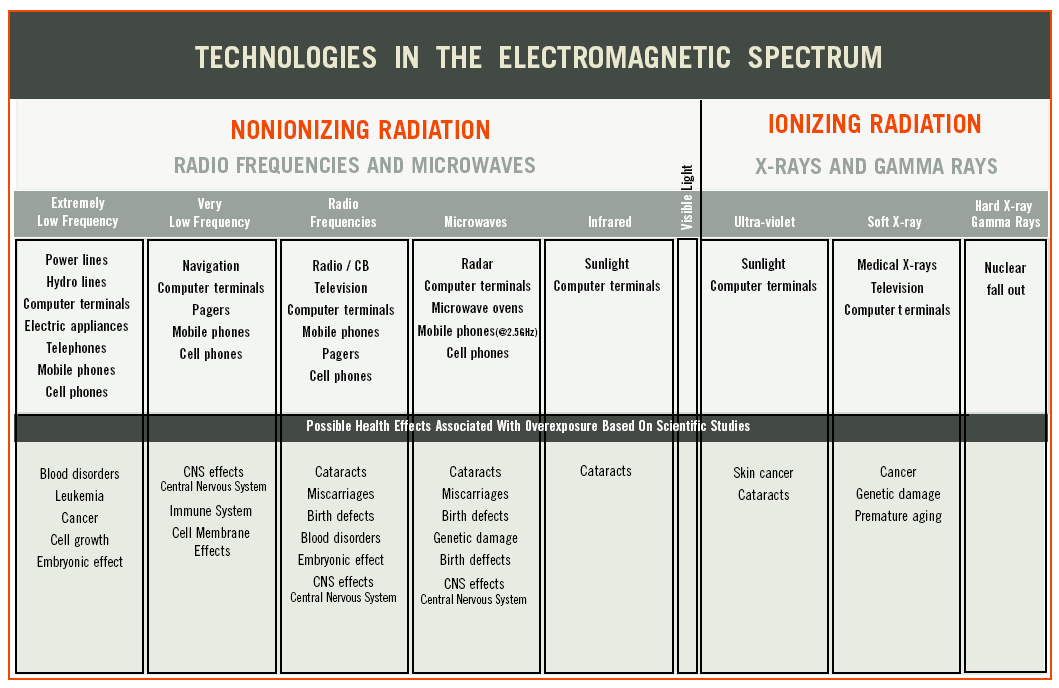 Electromagnetic Radiation In Home